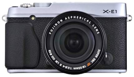 Фотоаппарат системный Fujifilm X-E1 Kit Silver