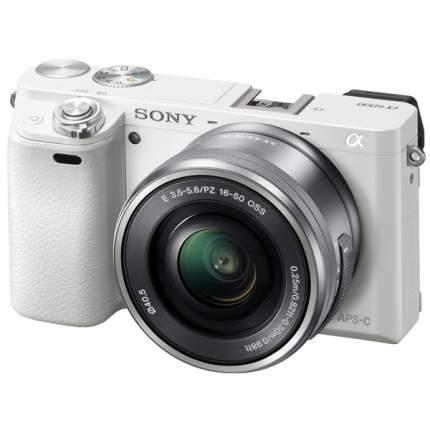 Фотоаппарат системный Sony Alpha A6000 Kit 16-50 White