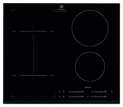Встраиваемая варочная панель индукционная Electrolux EHI9654HFK Black
