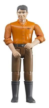 Фигурка мужчины коричневые джинсы bruder
