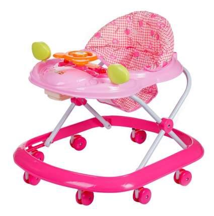 Ходунки детские babyhit first-step-pink