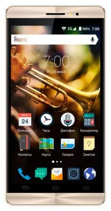 Смартфон Vertex Impress Jazz 8Gb Black/Gold