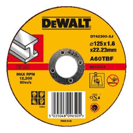 Диск отрезной абразивный DeWALT DT42300-XJ 125мм