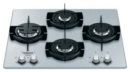 Встраиваемая варочная панель газовая Hotpoint-Ariston 642 /HA(SL) Silver