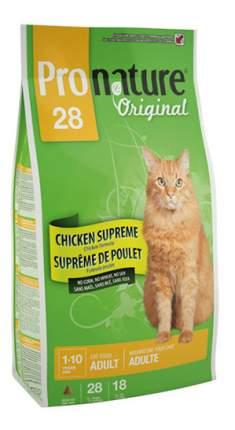 Сухой корм для кошек Pronature Original, цыпленок, 5,44кг