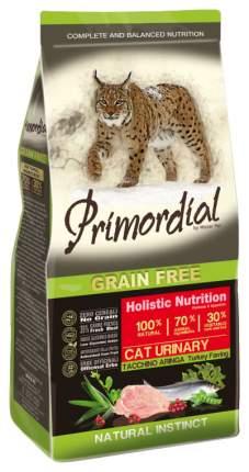 Сухой корм для кошек Primordial Natural instinct, беззерновой, индейка, сельдь, 0,4кг