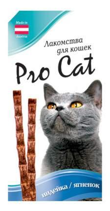 Лакомые палочки для кошек PRO CAT с индейкой и ягненком 13,5см, 15г