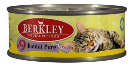 Консервы для кошек Berkley Adult Cat Menu, кролик, 6шт, 100г