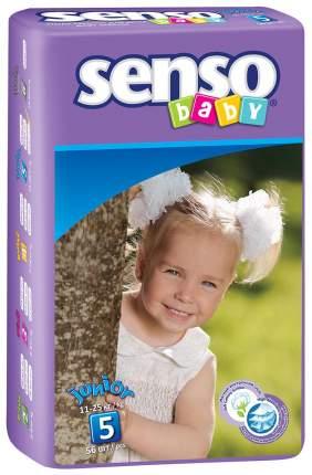 Подгузники Senso Baby Junior 5 (11-25 кг), 56 шт.