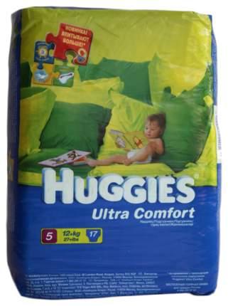 Подгузники Huggies Ultra Comfort 5 (12-22 кг), 17 шт.
