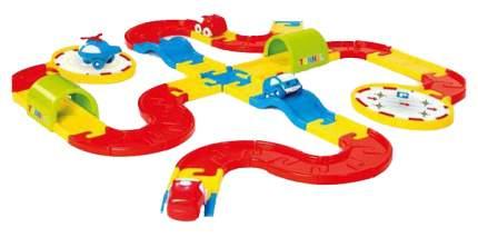 Игровой набор Dolu Дорога с машинками, 54 детали