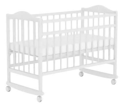 Кровать-качалка детская Фея 204 белая
