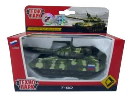 Трейлер военный с вертолетом металл Технопарк