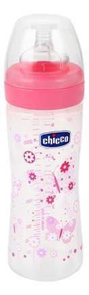 Детская бутылочка Chicco Well-Being Girl 2 мес 250 мл