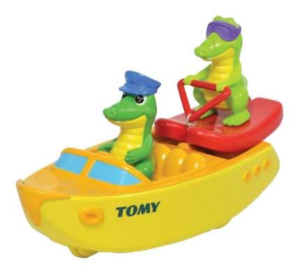 """Игрушка для купания Tomy """"Крокодил на лодке"""""""