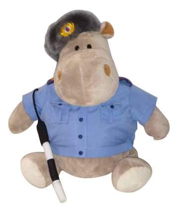 Мягкая игрушка Orange Toys Бегемот Полицейский 20 см