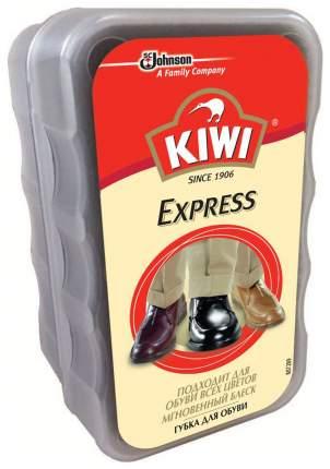 Губка для обуви Kiwi express губка бесцветная