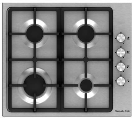 Встраиваемая варочная панель газовая Zigmund & Shtain GN 108.61 S Silver