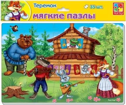 Мягкий пазл VLADI TOYS Сказки: Теремок, А4 (VT1102-15)