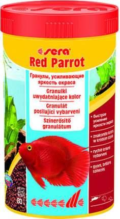 Корм для красных попугаев Sera Red Parrot, гранулы, 250 мл