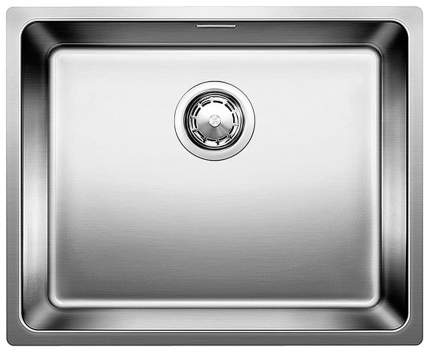 Мойка для кухни из нержавеющей стали Blanco ANDANO 400-U 518310 серебристый