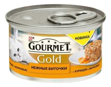Консервы для кошек Gourmet Gold, курица, овощи, 85г