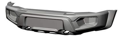 Силовой бампер АВС-Дизайн для UAZ ABC.UAZ.FB.17P