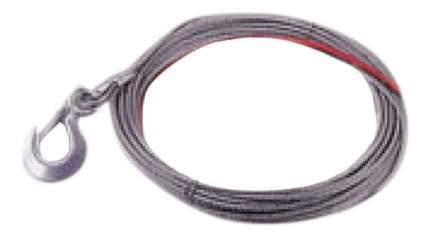 Трос для лебедки COMEUP С крюком 7.1мм 6т 881060