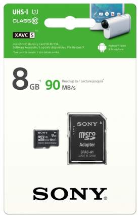 Карта памяти Sony Micro SDHC SR8UY3AT 8GB
