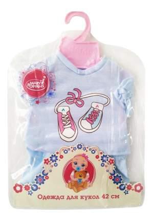Футболка и шортики для кукол Mary Poppins