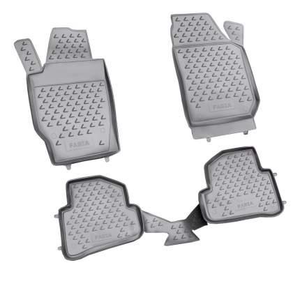 Комплект ковриков в салон автомобиля Autofamily для Skoda (NLC.45.06.210kh)