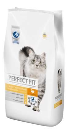 Сухой корм для кошек Perfect Fit Sensitive, индейка, 3шт по 3кг