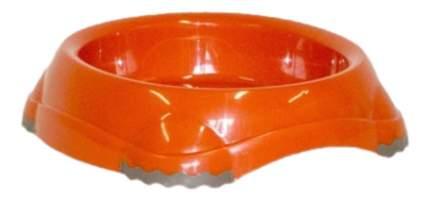 Одинарная миска для кошек MODERNA, пластик, оранжевый, 0.21 л