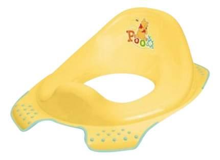 Накладка на унитаз ОКТ Винни Пух желтый