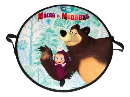 Ледянка детская 1TOY Маша и Медведь 52 см, круглая