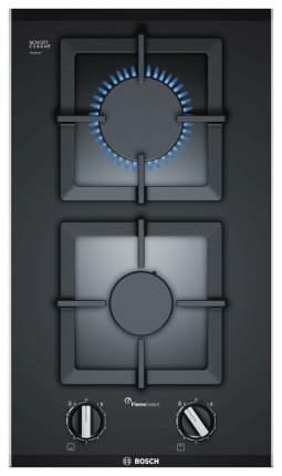 Встраиваемая варочная панель газовая Bosch PSB3A6B20 Black