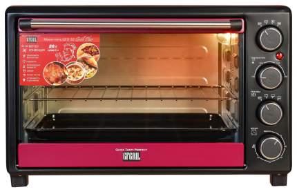 Мини-печь GFGRIL GFO-30 Grill Plus Dark Red