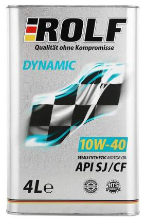 Моторное масло Rolf Dynamic API SJ/CF 10W-40 4л