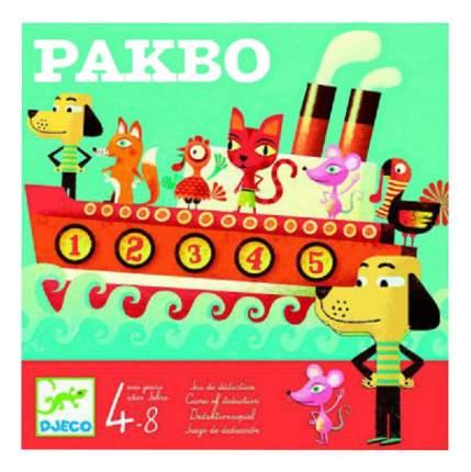 Семейная настольная игра Djeco Пакбо