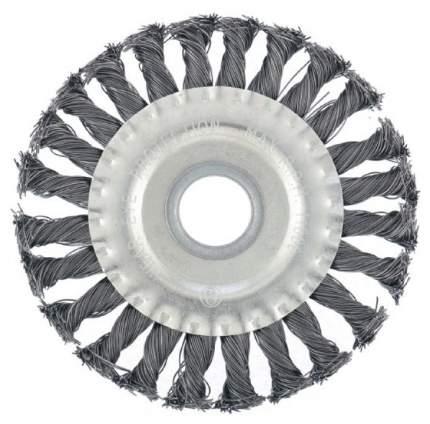 Кордщетка для шлифовальных машин MATRIX 125 мм 0,8 мм