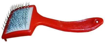 Пуходерка для кошек и собак Usond пластик красный