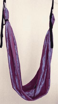 Полотно для гамака RamaYoga Extra Swing фиолетовое
