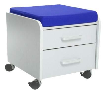 Комод пеленальный Comf-Pro BD-C2 серая с синей подушкой