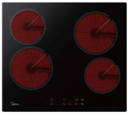 Встраиваемая варочная панель электрическая Midea MCH64160 Black