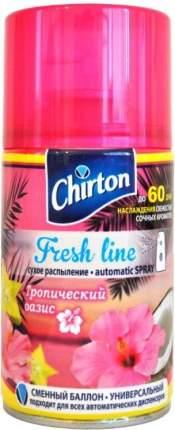 Освежитель для автоматического диспенсера Chirton fresh line тропический оазис 250 мл