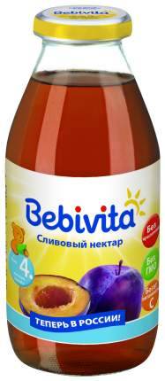 Нектар Bebivita Слива с 4 мес 200 мл