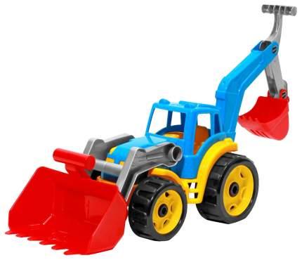 Спецтехника ТехноК трактор с 2 ковшами 3671