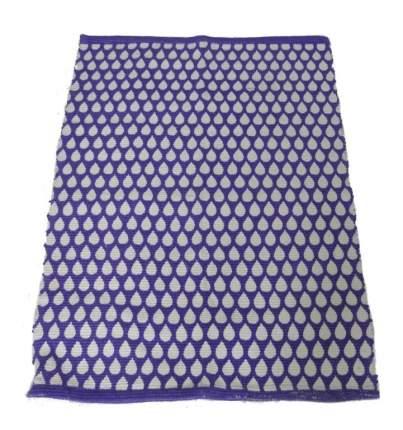 Коврик текстильный Ricotio Капли 60x90 см