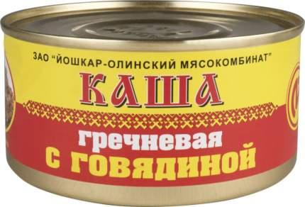 Каша гречневая с говядиной 325 г