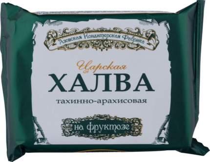 Халва царская тахинно-арахисовая Азовская кондитерская фабрика на фруктозе 180 г